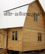 Вариант дома по проекту ДБ-2 4 на 5 м