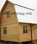Построенный дом из бруса 4 на 5 м