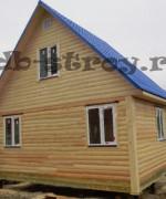 Фотография дома по проекту ДБ-3 4 на 6 м