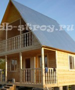 фото дома с крышей из металлопрофиля