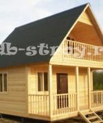 фото дома по проекту ДБ-4 с небольшими изменениями