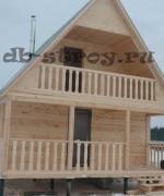 еще один вариант дома по проекту ДБ-4