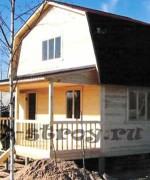 фотография дома, построенного по проекту ДБ-5