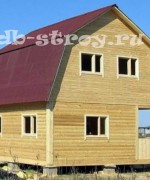 фото дома 6х6 м, проект ДБ-6