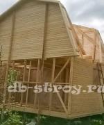 строительство каркасного дома по проекту ДБ-9