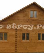 фото дома 6х7 м с изменениями, измененный проект деревянного дома ДБ-15