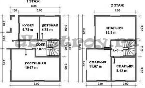 планировка проекта ДБ-23