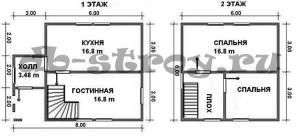 планировка ДБ-24
