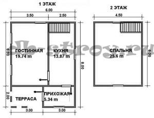 планировка проекта ДБ-25
