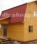 дом из бруса 6х6 плюс терраса 1,5 на 3 м