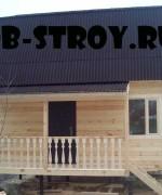дом по проекту ДБ-14 6х7,2 м с террасой