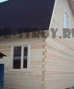 дом из профилированного бруса 90х140 мм