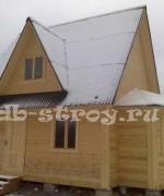 фото дома с небольшими модификациями, проект ДБ-17