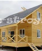 еще одна модификация дома, дом 7 на 8 метров