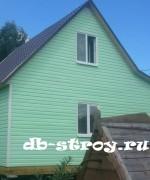 экстерьер дома 6х8 с зашитой террасой