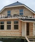 фото построенного дома по проекту ДБ-21 с изменениями