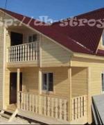 дом с зеркальной планировкой 6х8 с 3-мя фронтонами