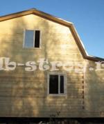 фото дома с верандой, вид с другой стороны