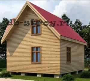 вид дома с фронтовой части