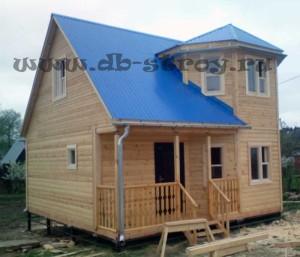 фото дома по проекту ДБ-34 7х7