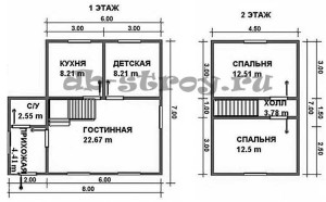 схема план проекта ДБ-35