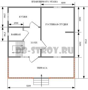 план-схема первого этажа