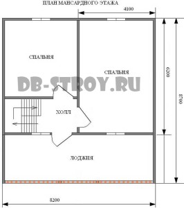 план-схема 2-го этажа