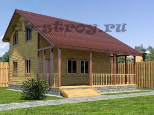 дом сбольшой террасой