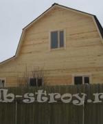дом по проекту ДБ-35, 7 на 8 с учетом пристройки