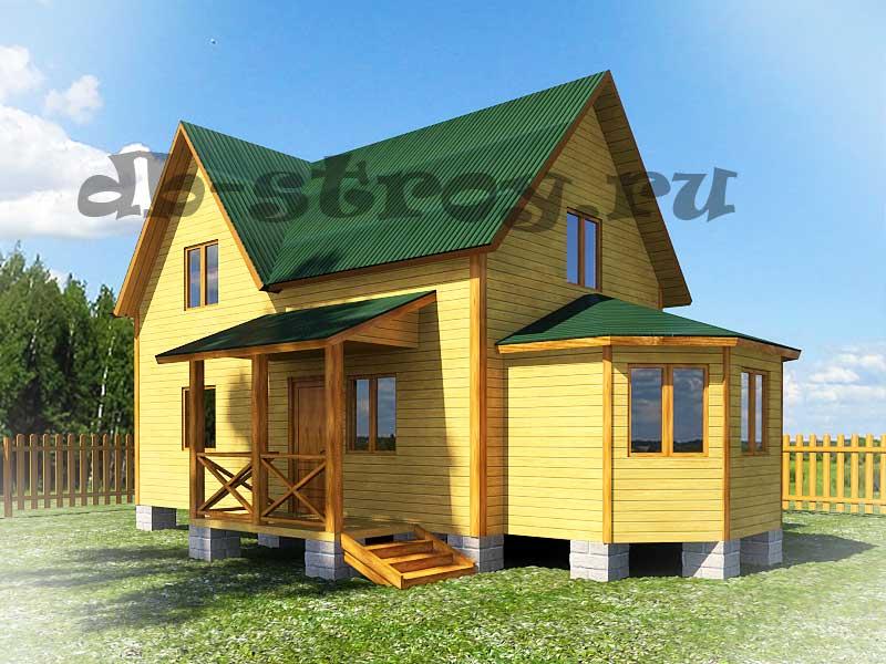 Фотографии построенного дома