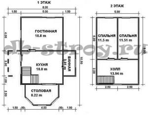 планировка проекта ДБ-53