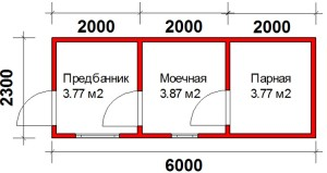 План дешевой бани терра 2
